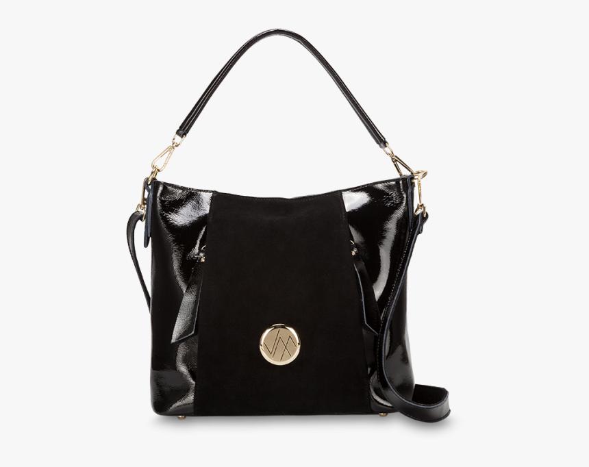 Cinta Black Genuine Leather Womens Handbag Vm - Shoulder Bag, HD Png Download, Free Download
