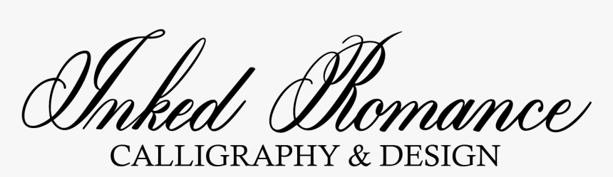 Inked Romance Calligraphy & Design - Calligraphy, HD Png Download, Free Download