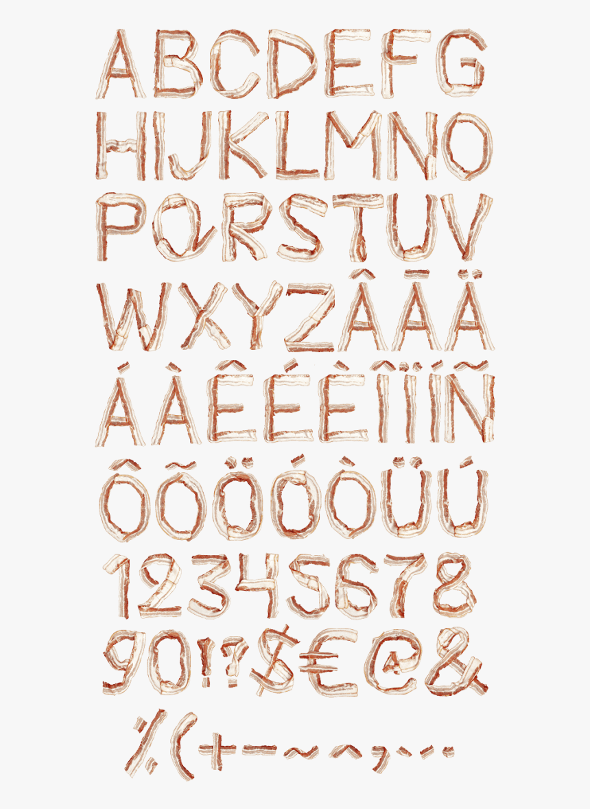 Transparent Bacon Png - Calligraphy, Png Download, Free Download