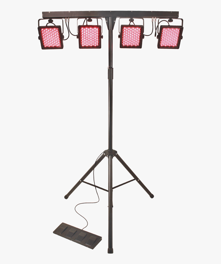 Transparent Dj Lights Png - Chauvet Light 4 Bar Tri How To Set Up, Png Download, Free Download