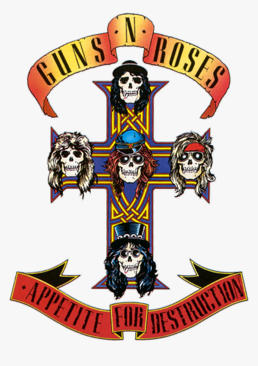 Axl Rose Tattoos - Guns N Roses Logo Png, Transparent Png ...