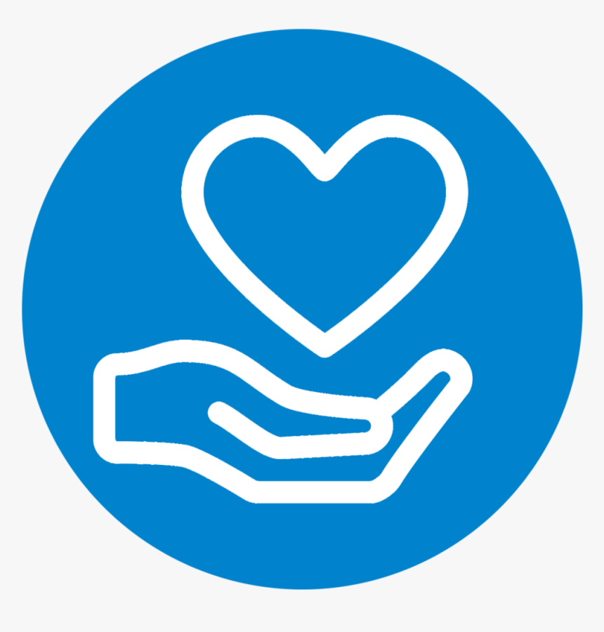 Youtube Donation - Donate Icon Blue Png, Transparent Png - kindpng