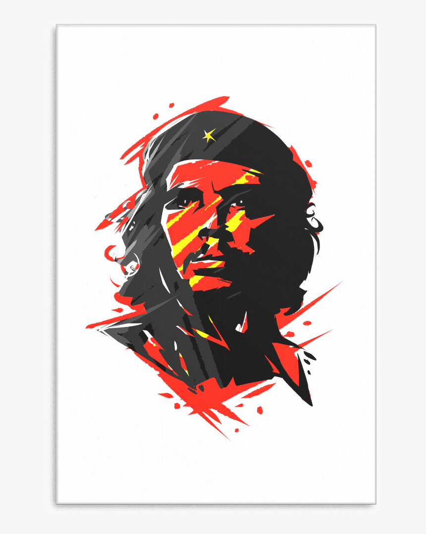 Che Guevara Argetine Leader Retro Canvas Art - Illustration, HD Png Download, Free Download