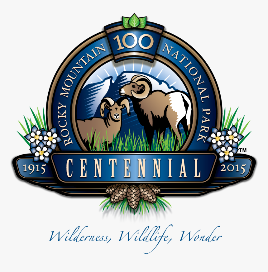 Rocky Mountain National Park , Png Download - 2016 Centennial National Park Patches, Transparent Png, Free Download