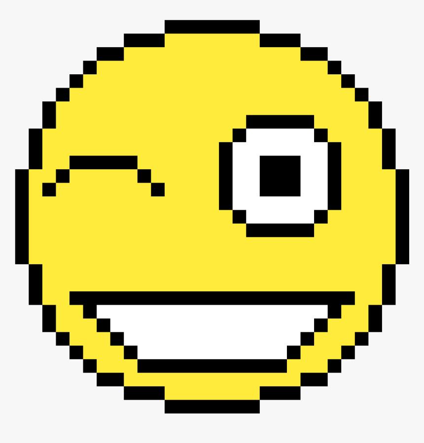 Pixel Art Happy Face Hd Png Download Kindpng