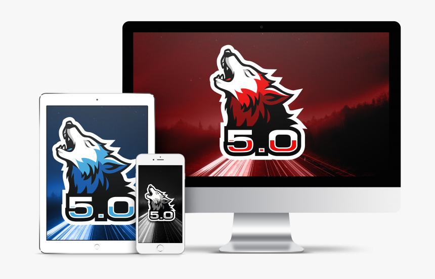 0 Coyote Wallpaper - Mac Ipad Iphone Mockup Png, Transparent Png, Free Download