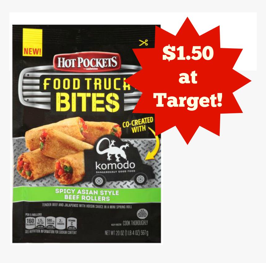 Hot Pockets Food Truck Bites, HD Png Download, Free Download