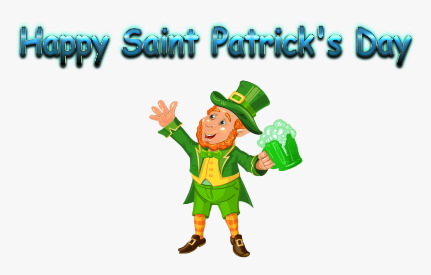 """Happy Saint Patrick""""s Day Love Name Heart Design Png - St Patrick's Day Png, Transparent Png, Free Download"""