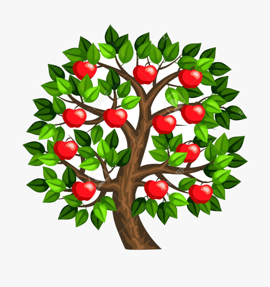 Apple Tree X Royalty Free Cliparts Vectors And Stock - Apple Tree Clipart, HD Png Download, Free Download