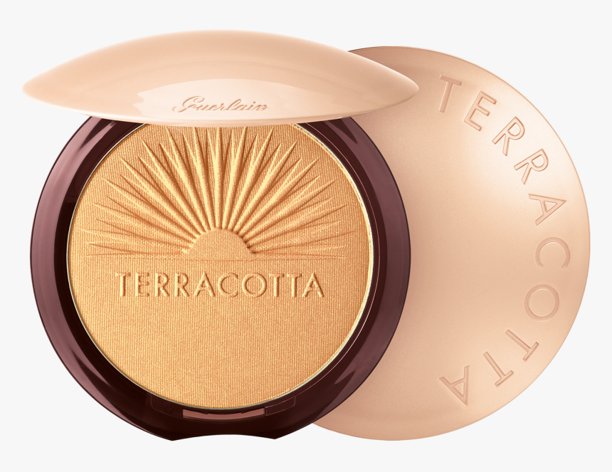 Transparent Gold Glow Png - Guerlain Terracotta Summer Glow Highlighter, Png Download, Free Download