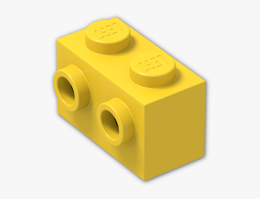 Transparent Lego Blocks Png - Lego 1x2 Brick With 2 Studs On One Side, Png Download, Free Download