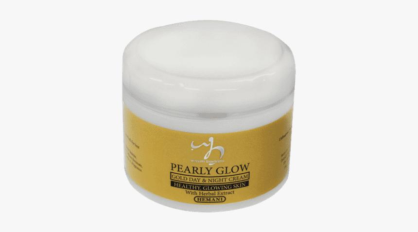 Pearly Glow Gold Day & Night Cream - Hemani Night Cream Price In Pakistan, HD Png Download, Free Download