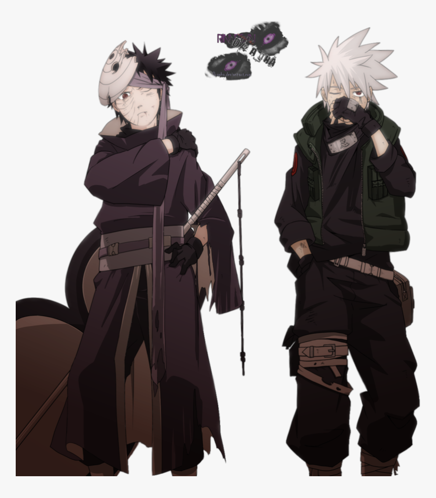 Kakashi And Obito Png, Transparent Png, Free Download