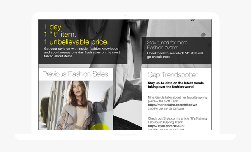 1600x900-02 - Gap Spring 2011 Campaign, HD Png Download, Free Download