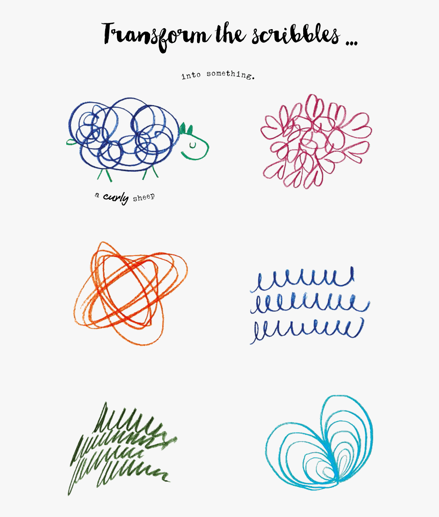 Interactive Doodle Page From A Line Is A Dot - Illustration, HD Png Download, Free Download