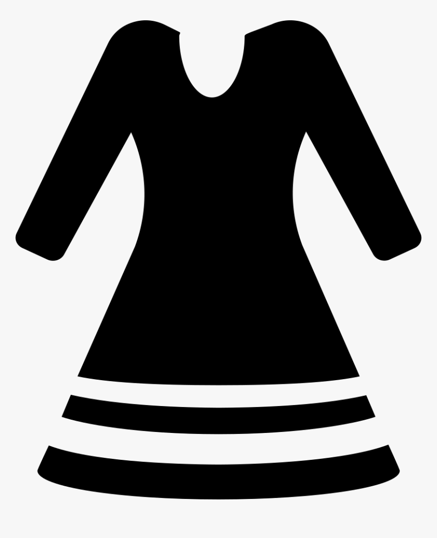 Icon Dress Png - Clothes Free Icon Png, Transparent Png, Free Download