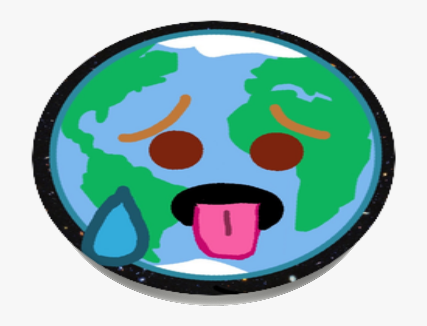 Melting/sweating Earth, Popsockets - Delete Clipart, HD Png Download, Free Download