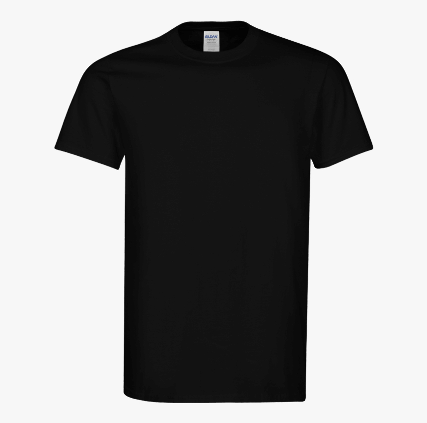 Oversized T Shirt Template - Realistic Black Tshirt Template, HD Png Download, Free Download