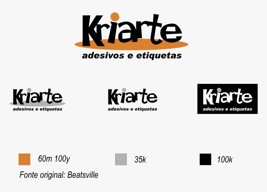 Kriarte Logo Png Transparent - Orange, Png Download, Free Download