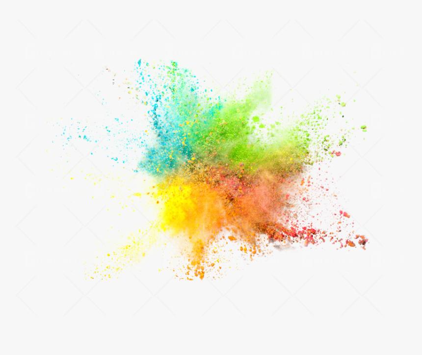 Color Splash White Background, Hd Png Download , Png - Colorful Png, Transparent Png, Free Download