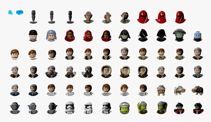 Lego Star Wars The Force Awakens Logo Png - Lego Star Wars Logo Characters, Transparent Png, Free Download