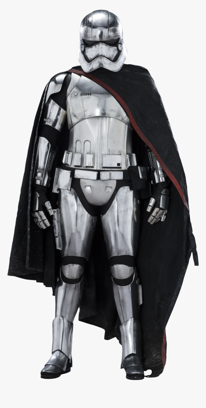 Captain Phasma Star Wars Ep7 The Force Awakens Characters - Star Wars Characters Captain Phasma, HD Png Download, Free Download