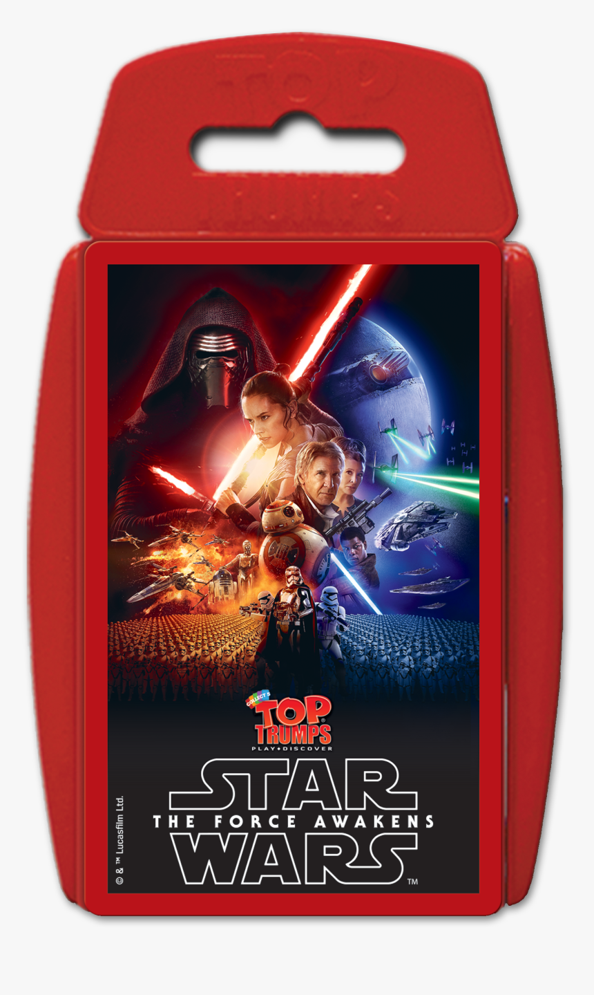 Star Wars The Force Awakens Top Trumps - Star Wars Episode Vii The Force Awakens 2015 Movie, HD Png Download, Free Download