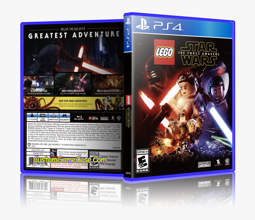 Transparent Star Wars Lego Png - Lego Star Wars Xbox 360 Cover, Png Download, Free Download