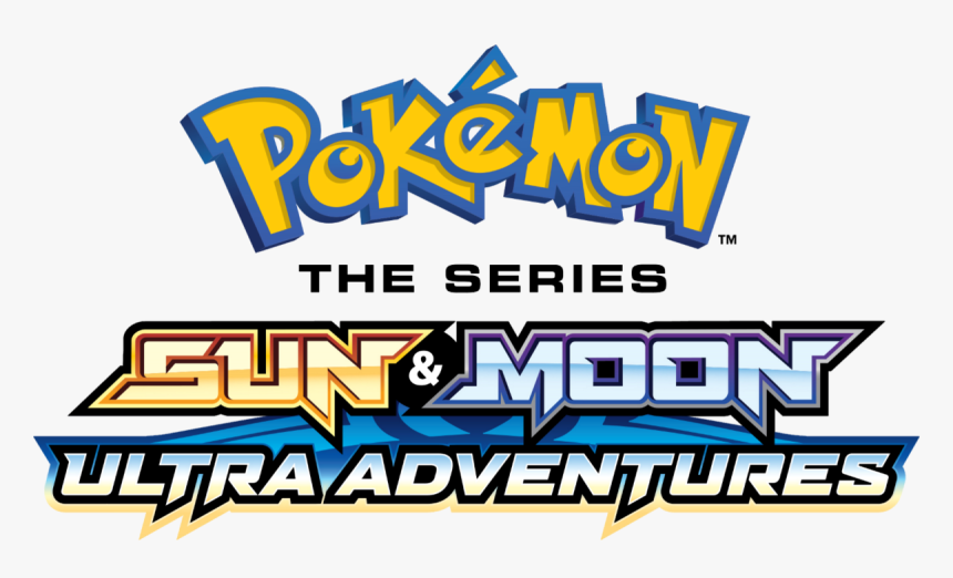 Pokemon The Series Sun And Moon Ultra Adventures Logo, HD Png Download, Free Download