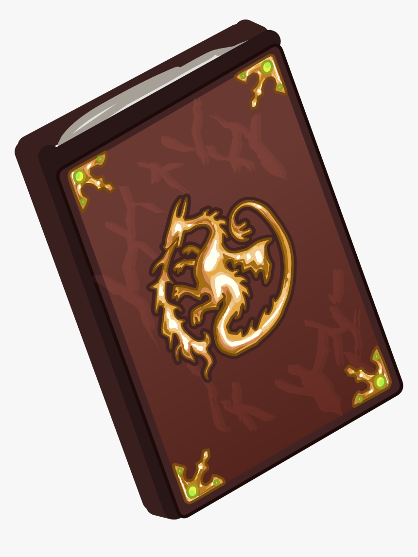 Club Penguin Wiki - Transparent Spell Book, HD Png Download, Free Download
