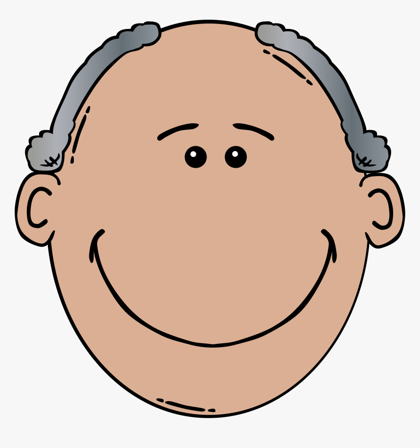 Old Man Face Clip Art Clipartfest - Old Man Face Clip Art, HD Png Download, Free Download