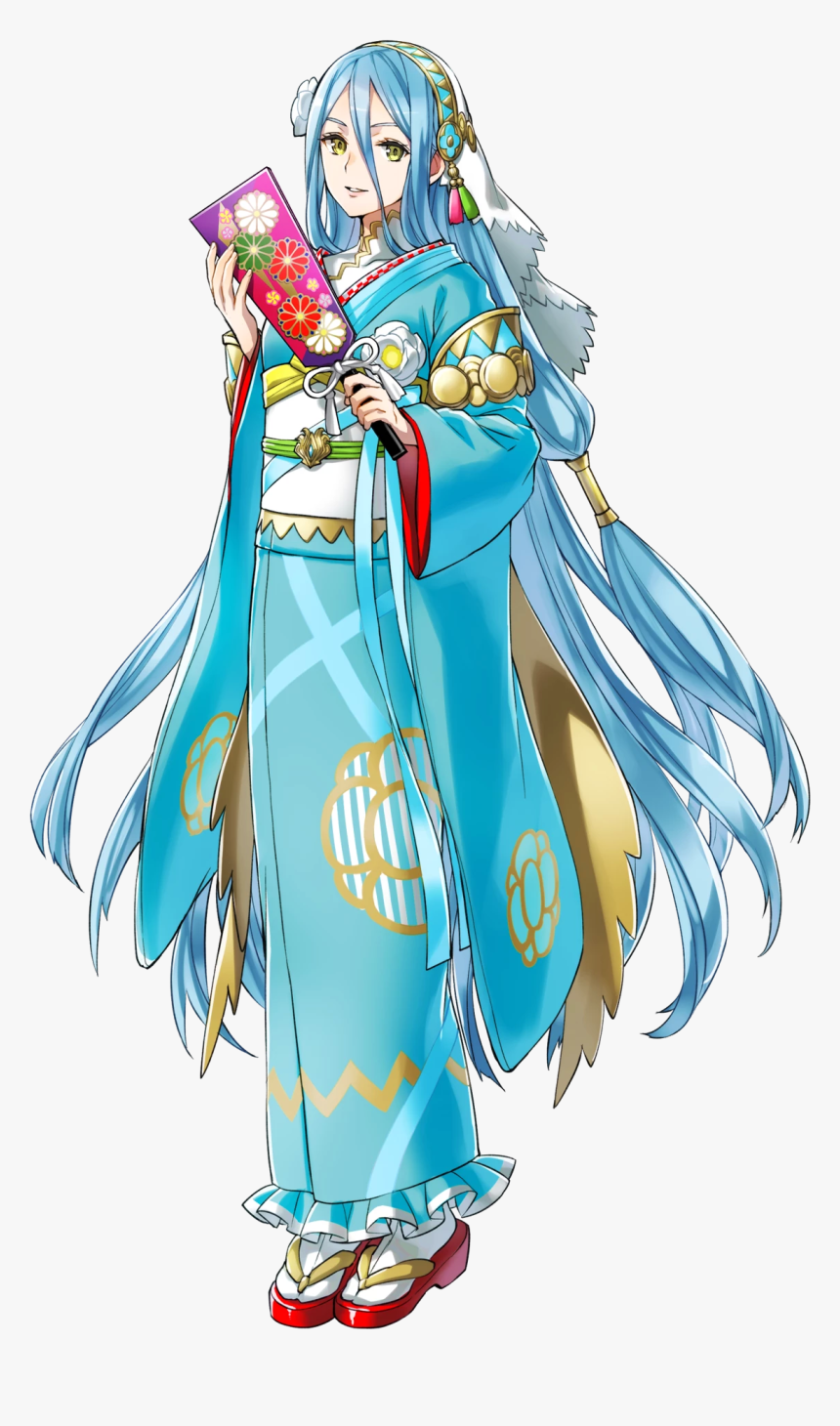 Fire Emblem New Year Azura, HD Png Download, Free Download