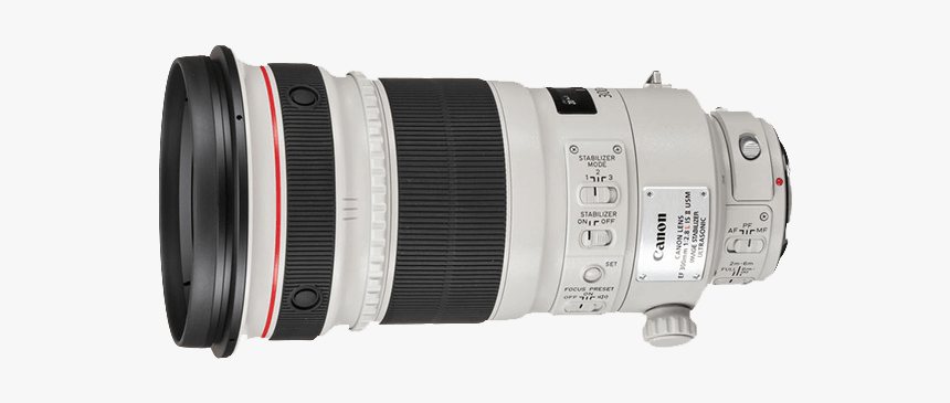 Canon Switchable Teleconverter Goes From - Professional Camera Lens, HD Png Download, Free Download