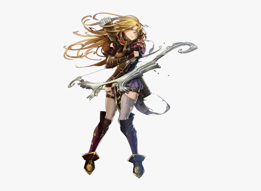 Clarisse Sniper In The Dark Btlface D - Fire Emblem Heroes Clarisse, HD Png Download, Free Download