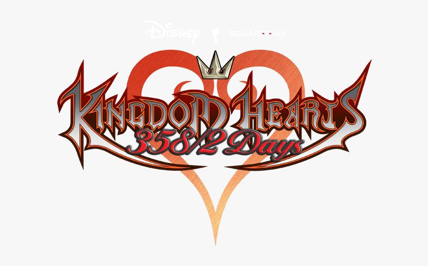 Kingdom Hearts 358/2 Days - Kingdom Hearts 358 2 Days Logo Png, Transparent Png, Free Download
