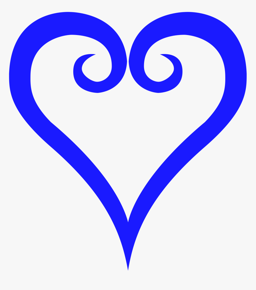 Transparent Down Syndrome Clipart - Kingdom Hearts Heart Symbol, HD Png Download, Free Download