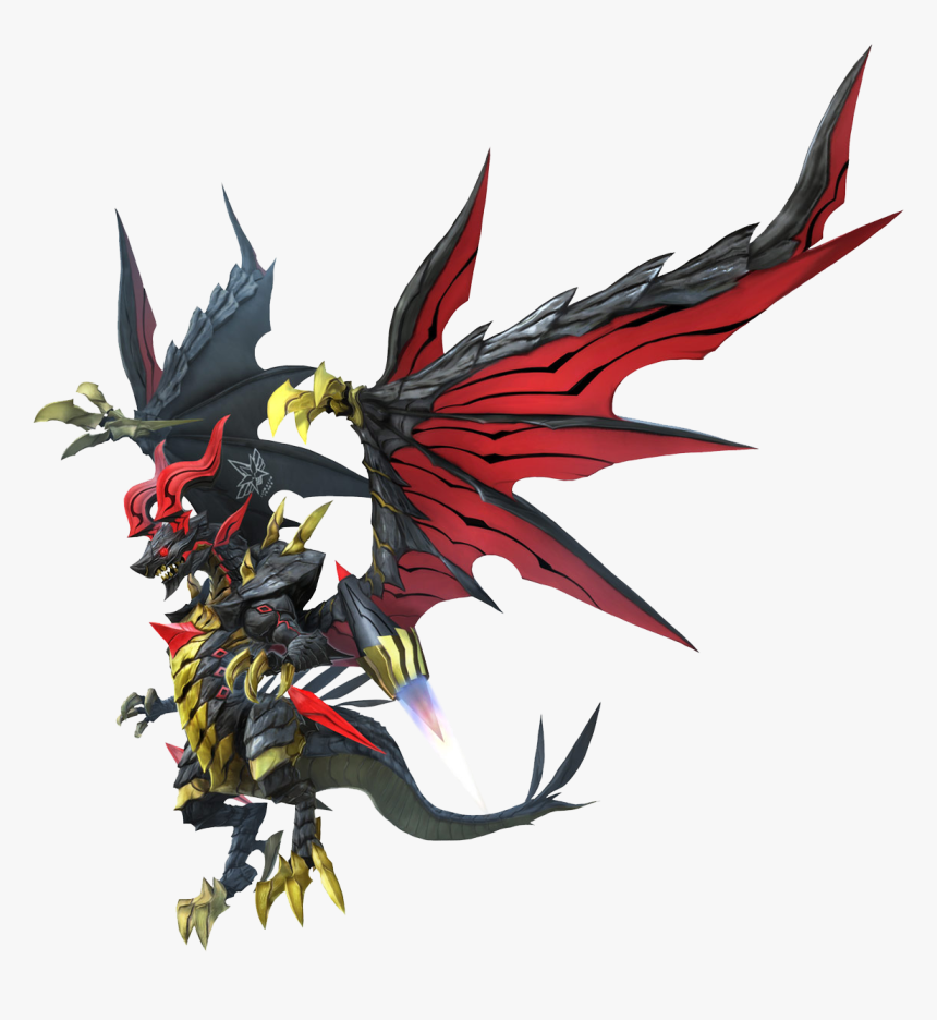 Final Fantasy Wiki - World Of Final Fantasy Bahamut, HD Png Download, Free Download