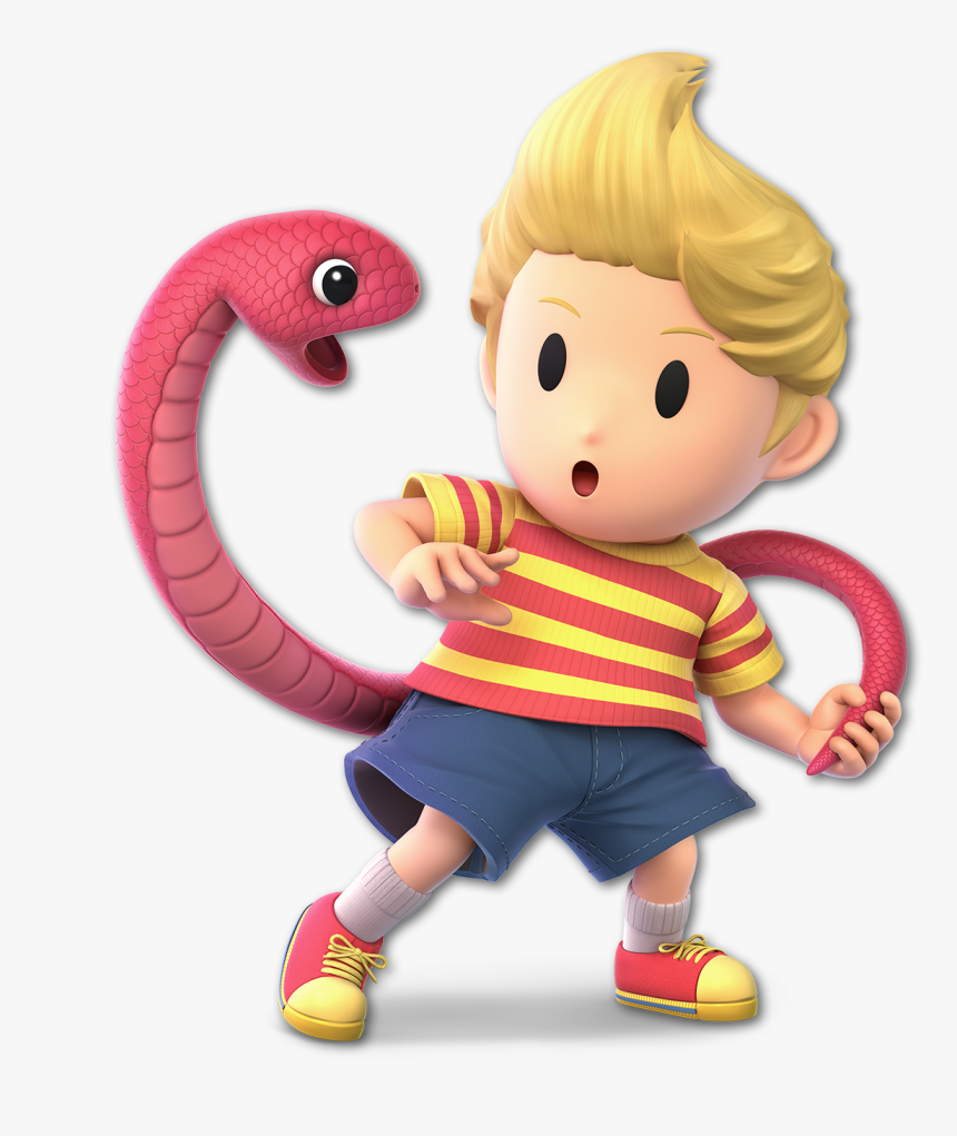 Super Smash Bros Ultimate Lucas, HD Png Download, Free Download