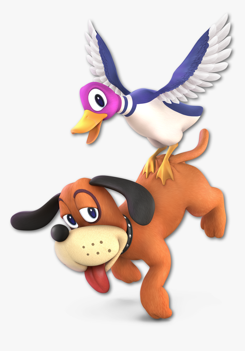 Transparent Nintendo Characters Png - Super Smash Bros Ultimate Duck Hunt, Png Download, Free Download