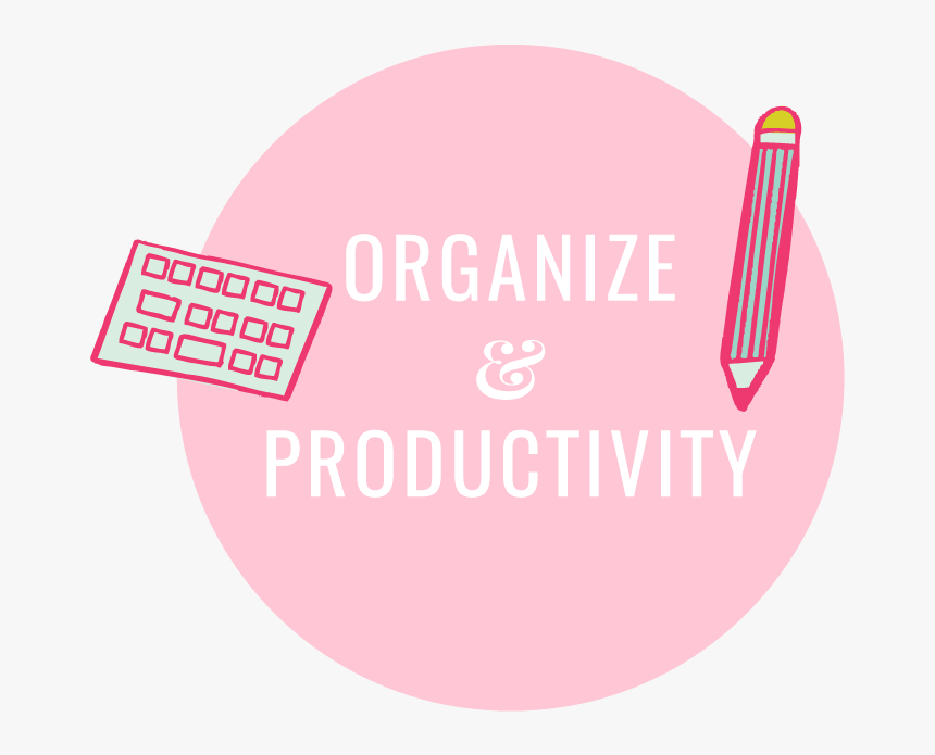 Organize & Productivity Icon Miss Creative Belle - Tm Productions, HD Png Download, Free Download