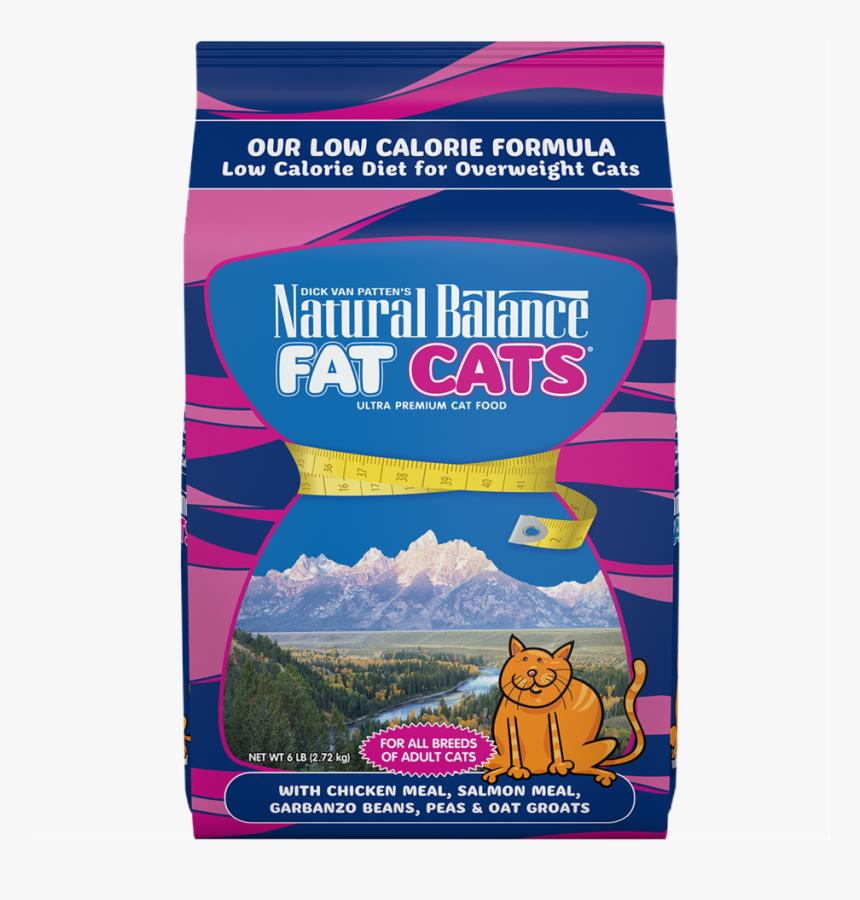 "Fat Cats®low Caloriedry Cat Food Formula ""  Data - Natural Balance Fat Cat, HD Png Download, Free Download"