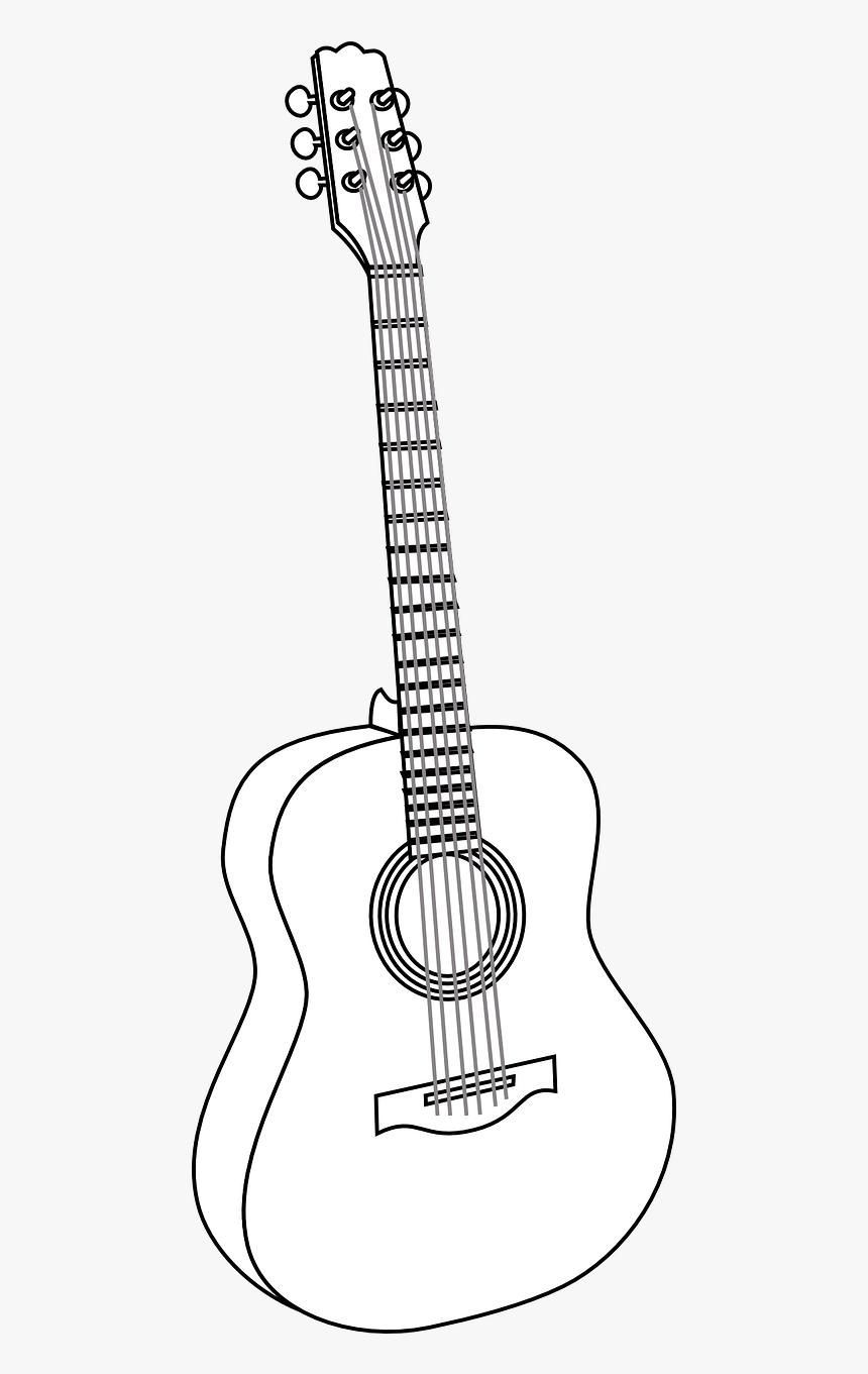 Ilustrasi Gambar Gitar HD Download Kindpng