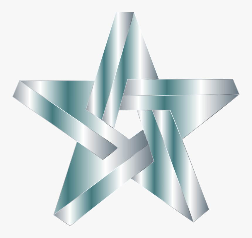 Impossible Star Silver - Triangle, HD Png Download, Free Download