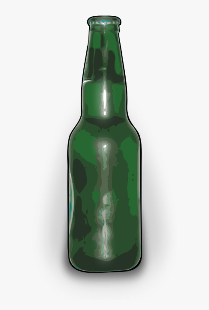 Vector Clip Art - Beer Bottle Clip Art, HD Png Download, Free Download