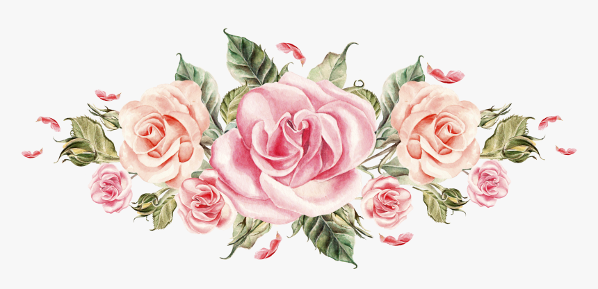 Pink Floral Invitation Template, HD Png Download - kindpng