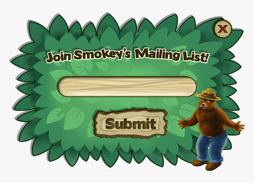 Transparent Smokey The Bear Png - Illustration, Png Download, Free Download