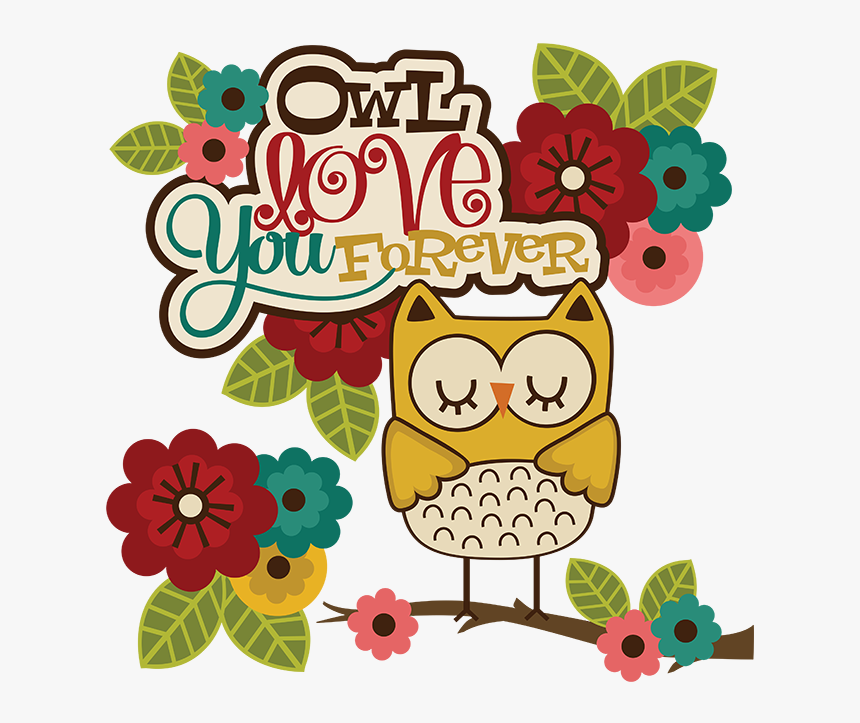 Svg Owl Clip Art Cute Owl Cli - Cute Owl Love You, HD Png Download, Free Download