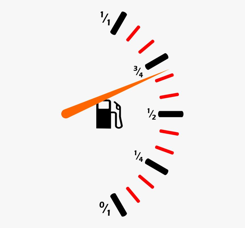 Fuel, Fuel Gauge, Petrol Meter, Petrol Gauge, Pointer - Fuel Gauge Png, Transparent Png, Free Download