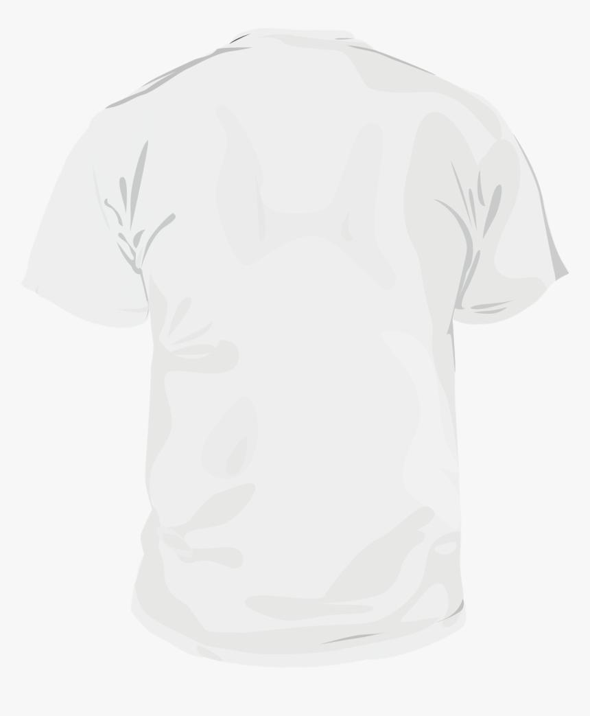 White Shirt Mockup Png, Transparent Png, Free Download