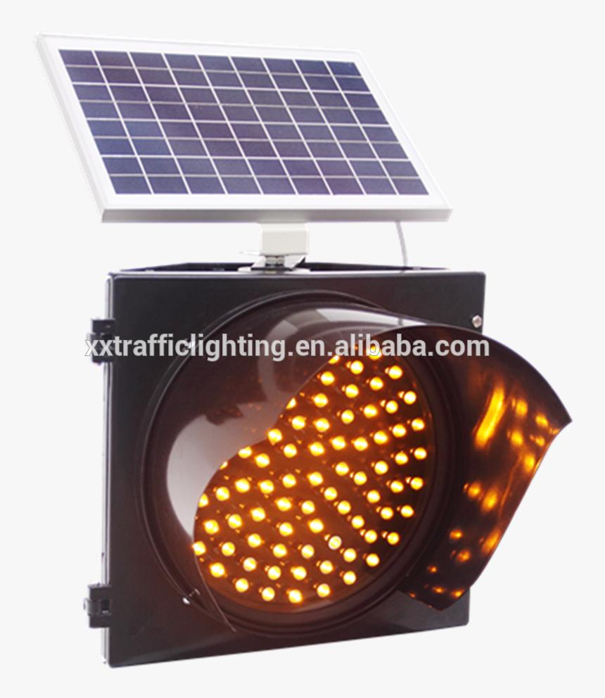 Solar Powered Led Traffic Light/battery Powered Led - Solar Powered Led Strobe Light, HD Png Download, Free Download